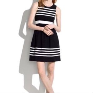 Madewell Saltwater Stripe Afternoon Dress L